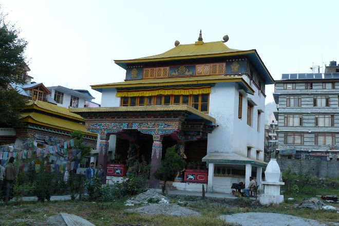 Gadhan Thekchhokling Gompa Monastery, Manali, India