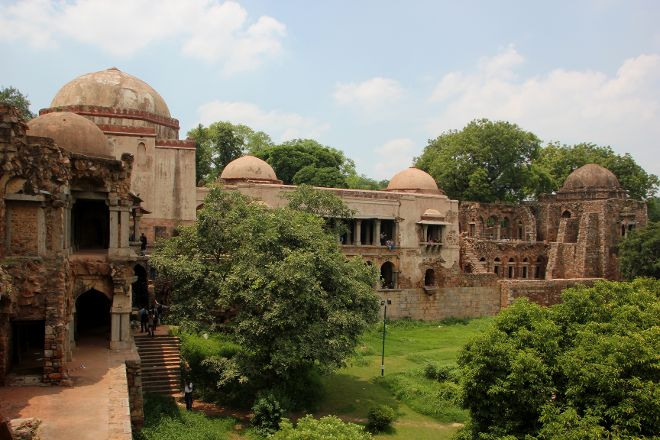 Hauz Khas Village, New Delhi, India