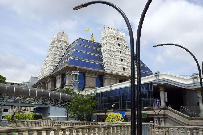 ISKCON Temple Bangalore, Bengaluru, India
