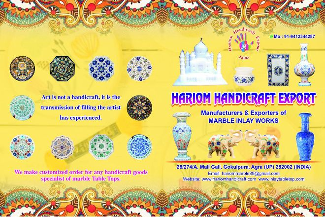 Java Handicraft Export, Agra, India