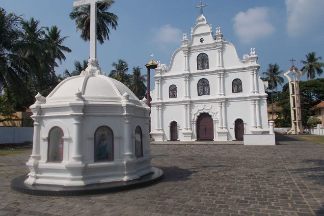 Jeevamatha Church, Kochi (Cochin), India