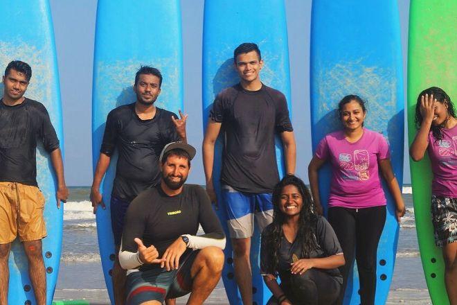 Kallialay Surf School, Pondicherry, India