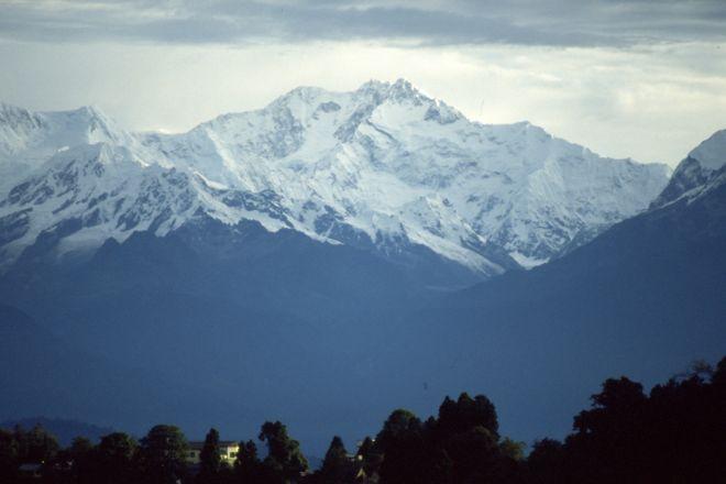 Kanchenjunga Mountain, Darjeeling, India
