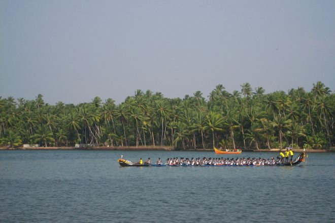 Kappil Lake, Varkala Town, India