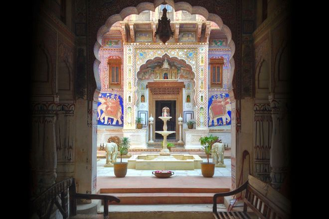 Le Prince Haveli Cultural Centre, Fatehpur, India