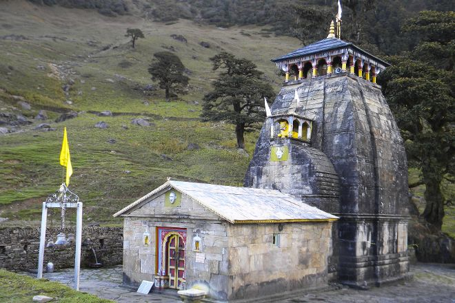Madmaheshwar Temple, Kedarnath, India