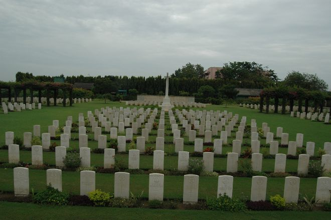 Madras War Cemetery, Chennai, India