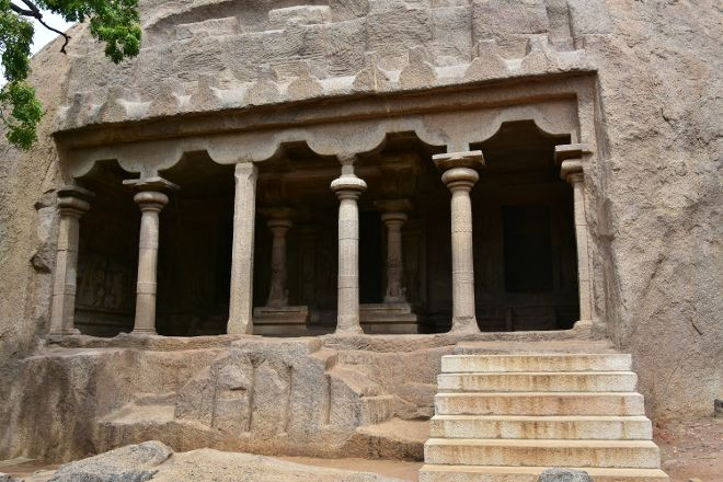 Mahishasuramardini Cave, Mahabalipuram, India