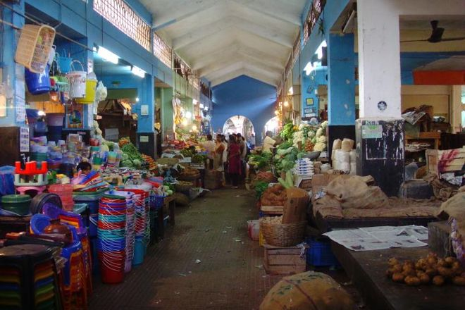 Margao Market, Margao, India