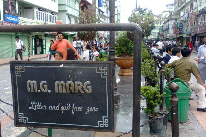 MG Marg, Gangtok, India