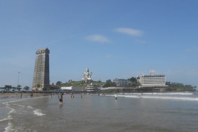 Murudeshwar Beach, Murdeshwar, India