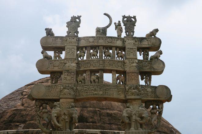 Northern Gate, Sanchi, India