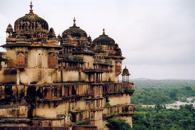 Orchha Fort, Orchha, India