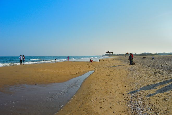 Paradise Beach, Pondicherry, India