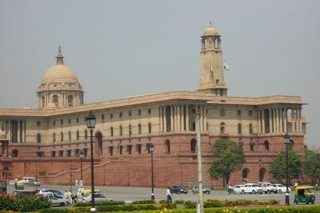 Parliament Of India, New Delhi, India
