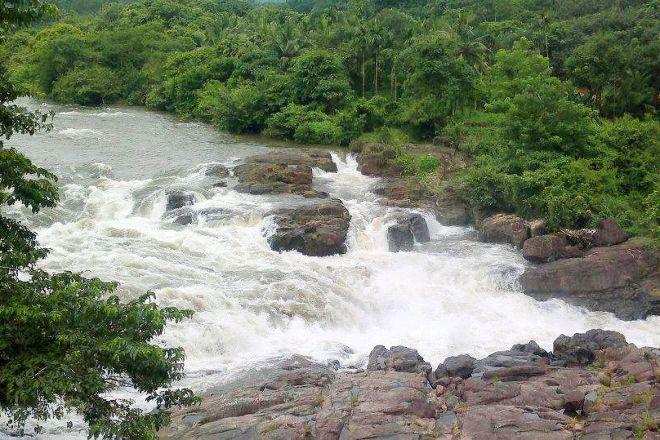 Perunthenaruvi Waterfall, Pathanamthitta, India