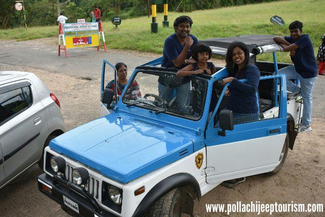 Pollachi Jeep Tourism, Pollachi Town, India