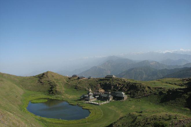 Prashar Lake, Mandi, India
