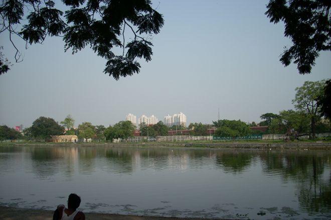 Rabindra Sarovar, Kolkata (Calcutta), India