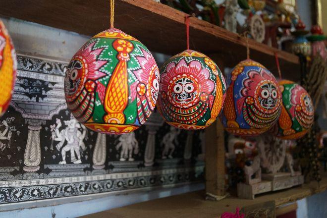 Raghurajpur Artist Village, Puri, India