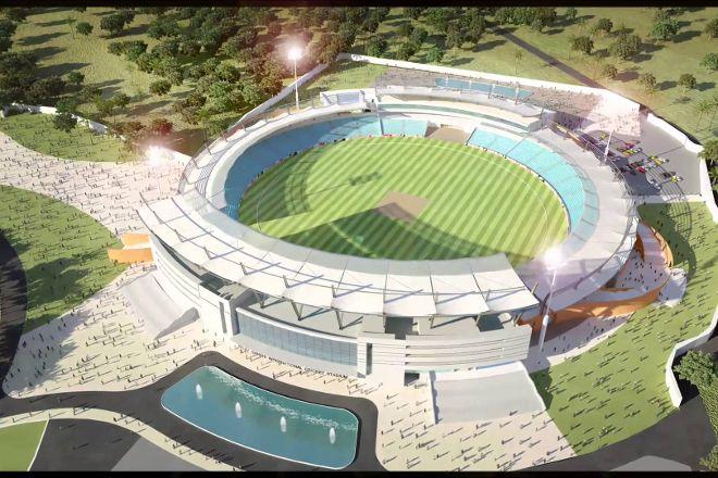 Rajiv Gandhi International Cricket Stadium, Dehradun, India