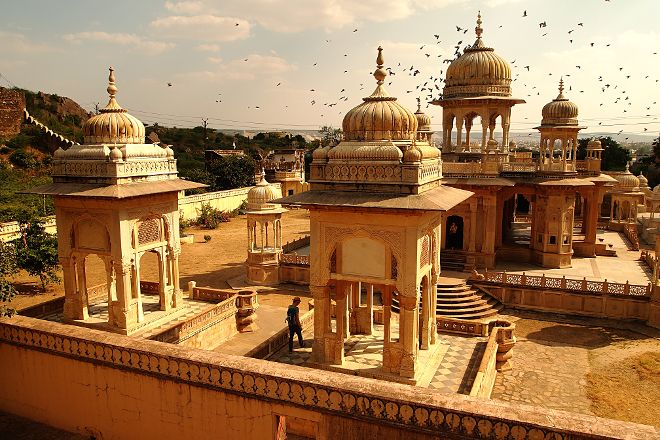 Royal Gaitor Tumbas, Jaipur, India