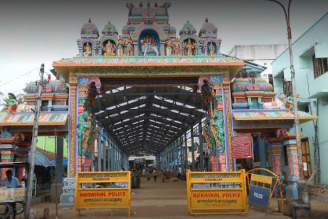 Saniswaran Temple, Thirunallar, India
