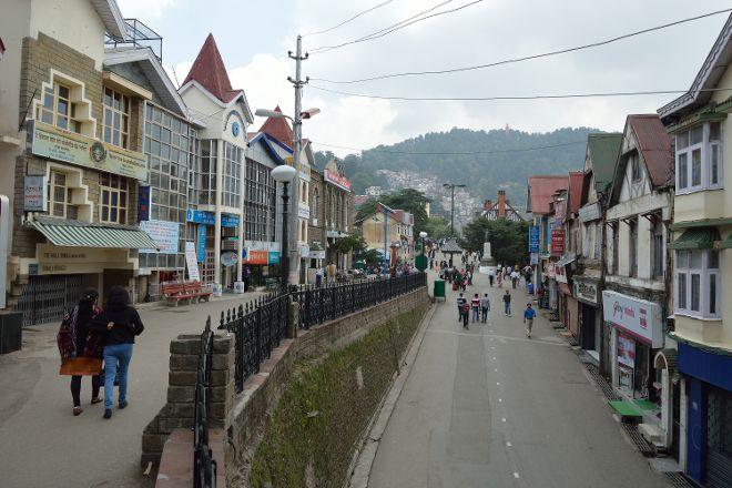 Scandal Point, Shimla, India