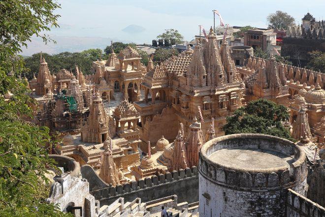 Shatrunjaya hill temple, Palitana, India
