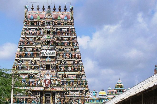 Sikkal Singaravelar Temple, Nagapattinam, India