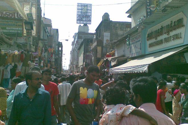 T Nagar, Ranganathan Street, Chennai, India