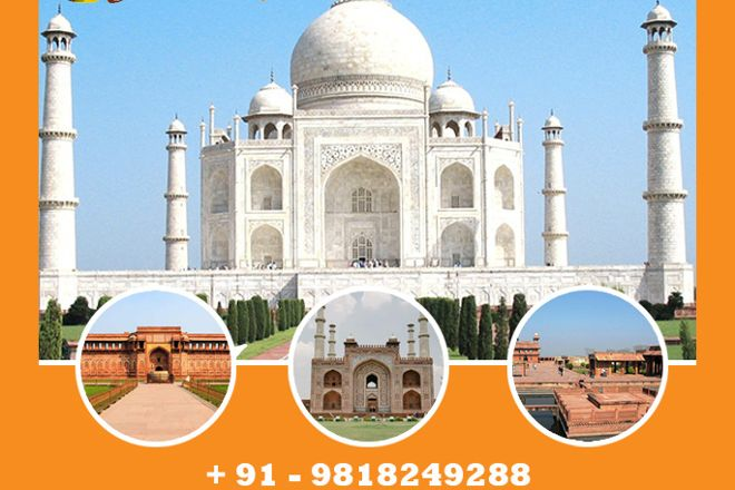 Taj Mahal Day Tour, New Delhi, India