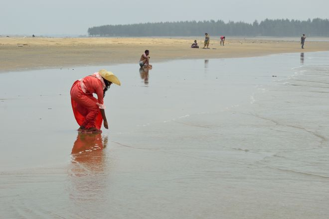 Tajpur Beach, Midnapore, India
