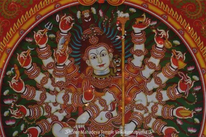 Vaikom Mahadeva Temple, Kottayam, India