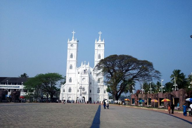 Vallarpadam Church, Kochi (Cochin), India