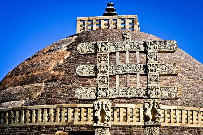 Western Gate, Sanchi, India