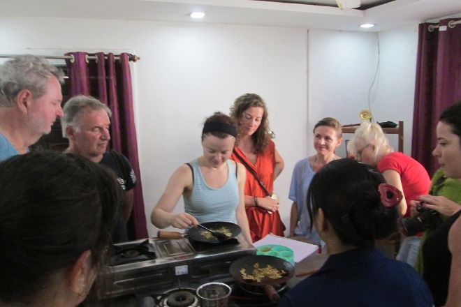 Yoga Cooking Classes, Patnem, India