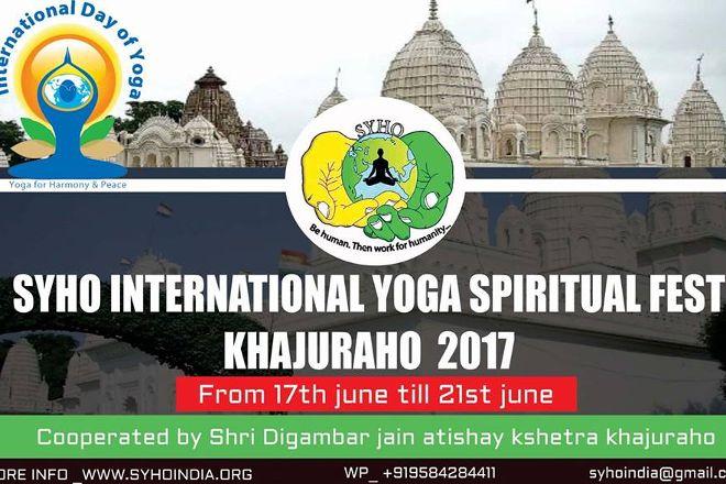 Yoga In Khajuraho, Khajuraho, India
