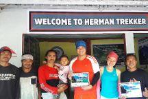 Herman Trekker, Senaru, Indonesia