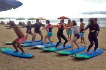 Pulau Biru Surf, Kuta, Indonesia