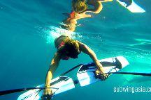 Subwing Gili Islands, Gili Air, Indonesia