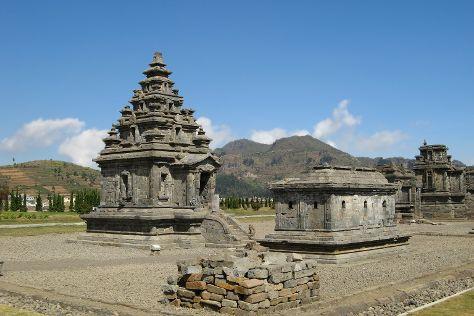 Arjuna Temple, Dieng, Indonesia