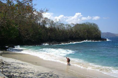 Blue Lagoon Beach, Manggis, Indonesia
