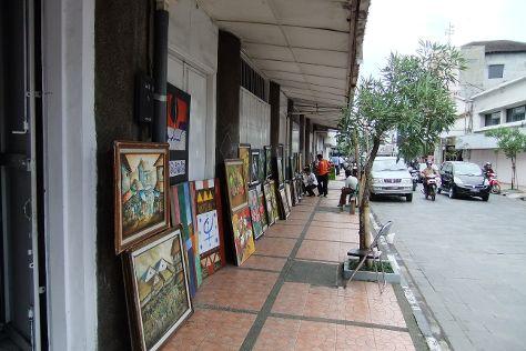 Braga Street, Bandung, Indonesia