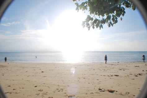 Bukit Berahu Beach, Tanjung Pandan, Indonesia