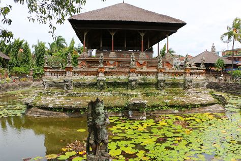 Klungkung Temple, Bali, Indonesia