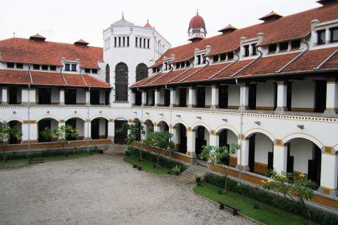 Lawang Sewu Building, Semarang, Indonesia