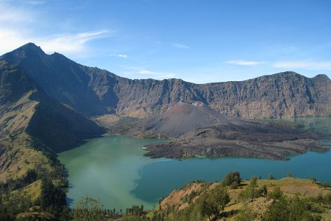 Mount Rinjani, Lombok, Indonesia