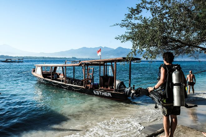 3W Dive Gili Air, Gili Air, Indonesia