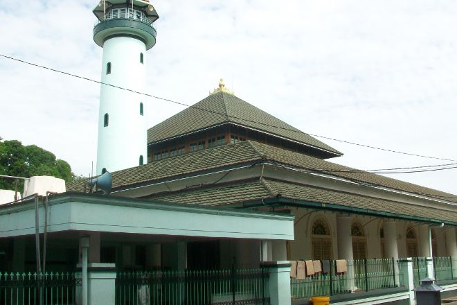 Ampel Mosque, Surabaya, Indonesia